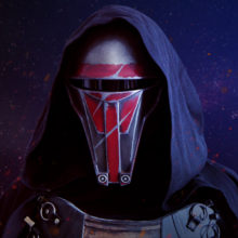 Darth Revan Sith Mask Star Wars KOTOR
