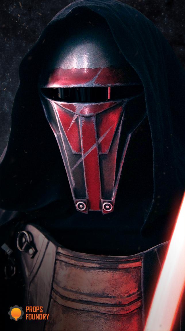 Darth Revan Sith Mask Star Wars KOTOR