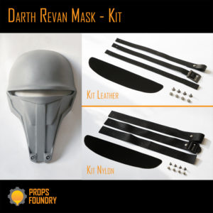 Darth Revan Star Wars Sith Mask Kit