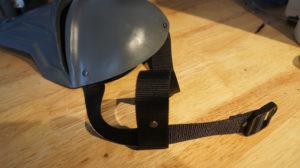 Left strap rivet 4