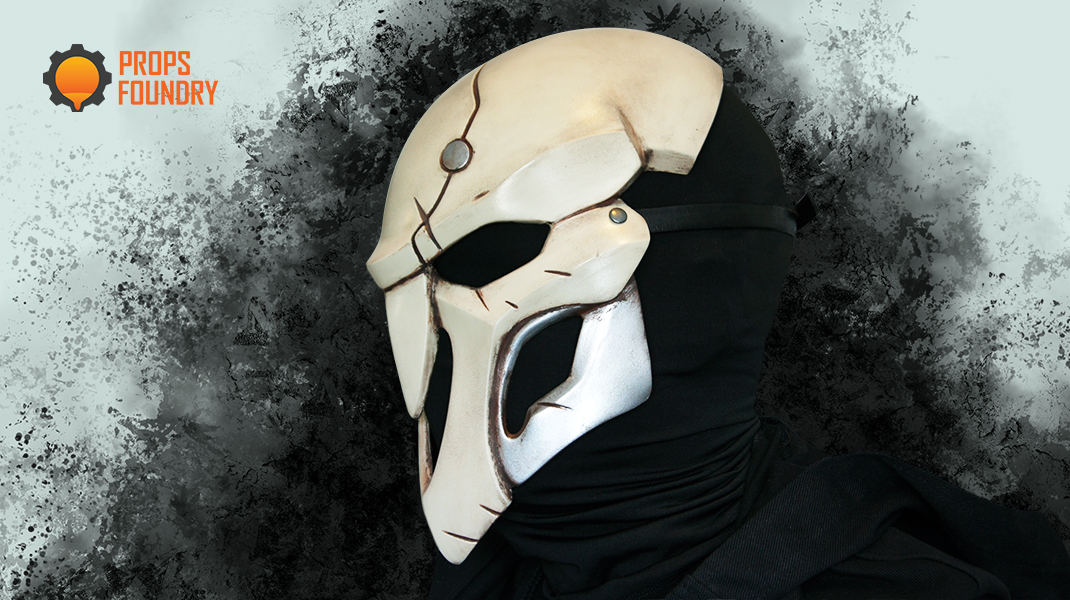 Spray Paint Mask >> Overwatch Reaper Mask