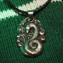 Slytherin pendant