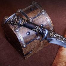 Ebony Dagger replica- Skyrim