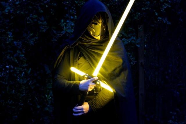 Custom Jedi Temple guard mask by Arisaig Winterthorn